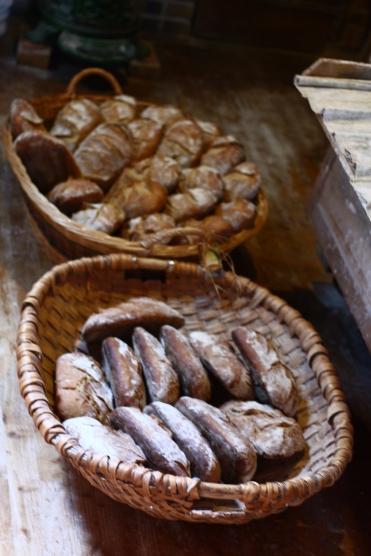 Les pains sortant du four