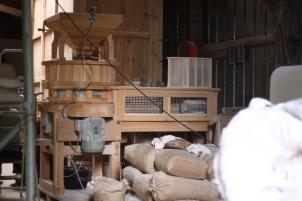 Moulin et farine.