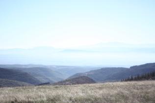 Balade dans les montagnes noires.