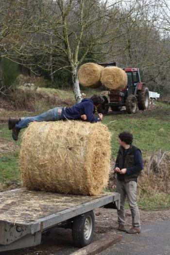 Pilou, Petit Jean et en arrière-plan, Gillou