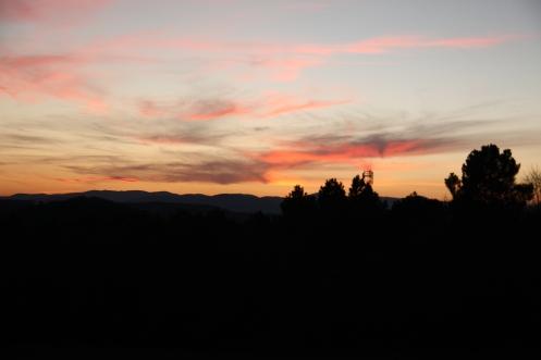 La vue sur l'Ardèche