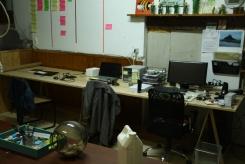 Espace empaquetage et vente (avec nouveau bureau)