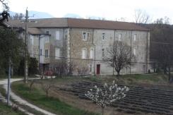 Vue sur le monastère