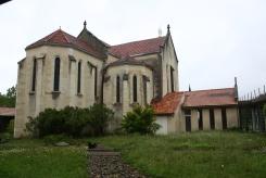 Eglise vue du cloître